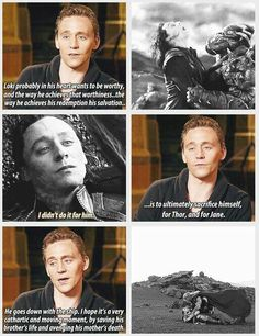 Tom Hiddleston. Via Twitter. Dont' mind me……crying over here in a little corner...