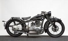 BMW R16, 736 kubikcentimeters toppventilare tillv. 1930-34