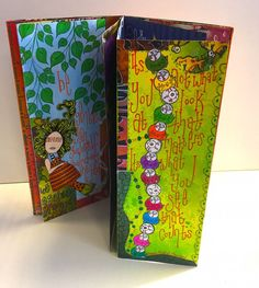 Sat 21st Feb - All Things Dylusions Journal with Sandra B - 10-3pm