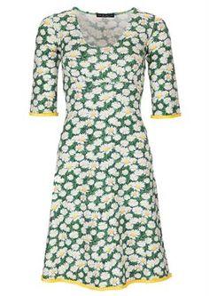 Mania Copenhagen dress STELLA bellis green grass