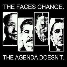 The faces change. The agenda doesn't. Earth is manipulated by a death cult.
