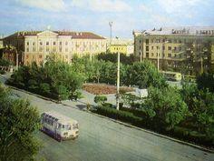 Курган, Привокзальная площадь, 1974 г. Arrow Of Time