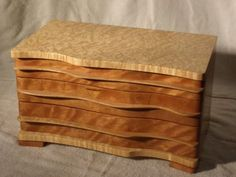 Birdseye Maple and Curly Cherry Box - Reader's Gallery - Fine Woodworking