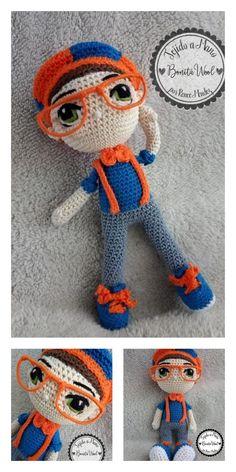 Amigurumi Ballerina Doll Free Pattern Amigurumi Doll, Amigurumi Patterns, Knitting Patterns, Crochet Patterns, Crochet Doll Pattern, Crochet Dolls, Crochet Clothes, Ballerina Doll, Yarn Crafts