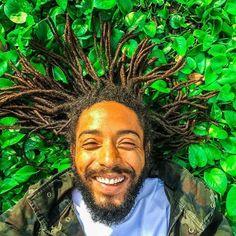 Featuring @marino_maali ・・・ Damn! It Feels Good To Be A Black Man. #iamlocd #locs #locjourney #locstyles #locdmen #guyswithlocs #onewithnature #nature