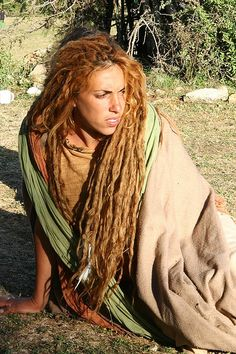 israeli woman with dreads