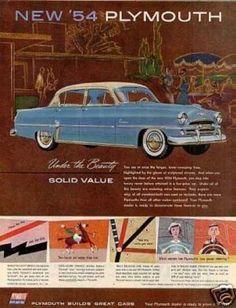 Plymouth Belvedere Car (1954)