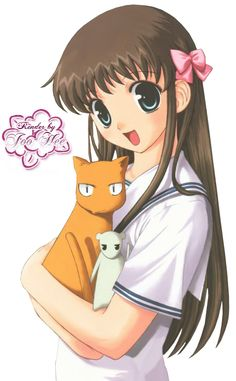 Tohru Honda, Fruits Basket----I love her character. She goes through all hell in life but is still sweet & caring.