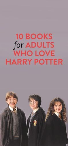 10 Books For Adults Who Love Harry Potter- I should make this my reading list I Love Books, Great Books, Books To Read, My Books, Teen Books, Non Fiction, Fiction Books, Reading Rainbow, Lectures