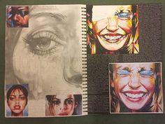 Thomas Saliot Exploration A Level Art Sketchbook, Sketchbook Layout, Sketchbook Inspiration, Art Sketches, Art Drawings, Thomas Saliot, Art Alevel, Art Courses, Art Pages