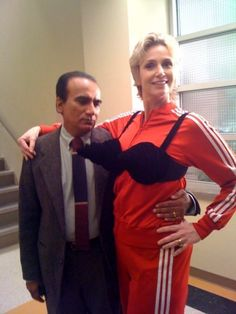iqbal theba  and jane lynch