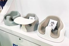 New Bumbo Floor Seat Colors | Top Baby Products for 2017 from the ABC Kids Expo