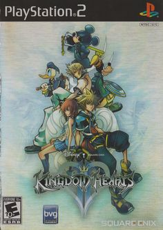 Kingdom Hearts II - PlayStation 2 Game Includes Sony original game disc in case and may come with the original instruction manual and cover art when available. All PlayStation 2 games will play on Kingdom Hearts Ii, Kingdom Hearts Games, Games Box, Games To Play, Playstation Games, Xbox, Video Game Art, Video Games, Juegos Ps2