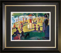 Georges Seurat-A Sunday Afternoon on the Island