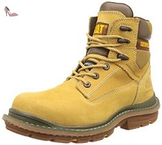 ae6acd9d465499 Caterpillar Fabricate 6 Ct S3 Sra, Bottes de sécurité homme, Marron (Honey  Reset