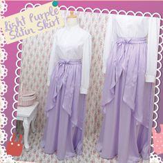 Handmade Satin Skirt #handmade #satin #skirt #fashion #cute