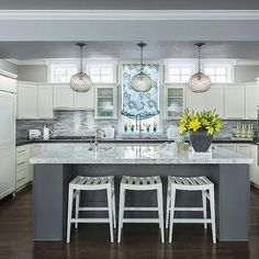 Open concept kitchen design ideas amp remodel pictures houzz - 1000 Images About Kitchen Reno On Pinterest Combination