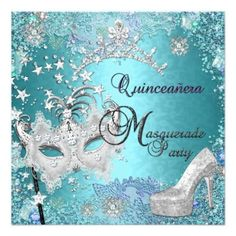 Quinceanera Birthday Party Invitations - (Click on pics) To view more items!!!
