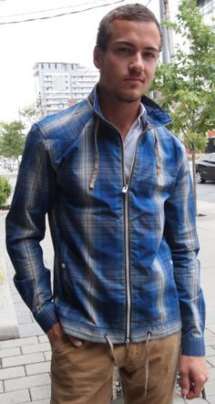United Kingdom of Luke plaid jacket $125 from Gotstyle Menswear.