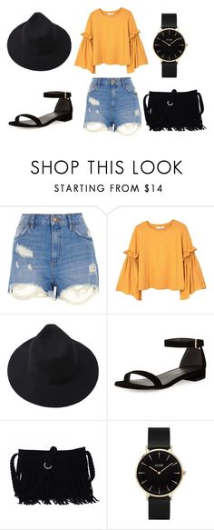 """""""summer day"""" by micap176 on Polyvore featuring mode, River Island, MANGO, Stuart Weitzman en CLUSE"""