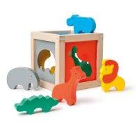 Boîte à formes animaux Savane