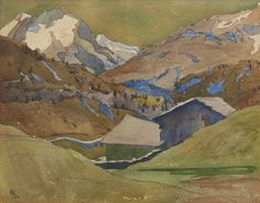 giacometti, giovanni engadiner ||| landscape ||| sotheby's zh1506lot8nkkwen