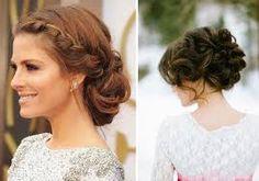 Resultado de imagem para penteados para casamento coque
