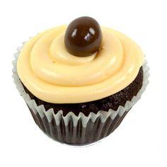 Cupcake de Chocolate con plátano