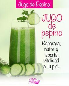 Encuentra más tips en Pura Chulada. #PuraChuladaMx #HealthyFood #Beauty #Tip #girls #pepino #saludable