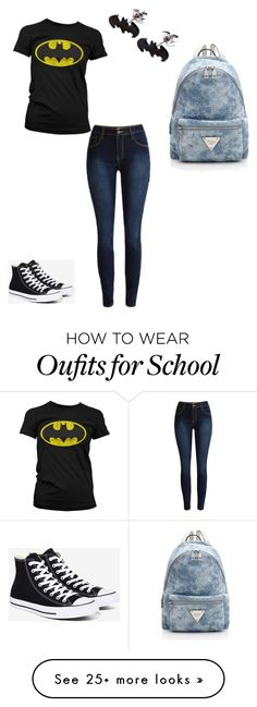 """""""Going to school"""" by kidcyrus on Polyvore featuring Converse"""