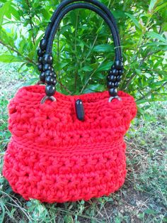 Sling bag ReD by JustForYouhm on Etsy