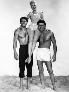 Sandra Dee, Cliff Robertson & James Darren in Gidget (1959)