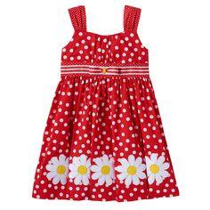 21a130f88 Toddler Girl Blueberi Boulevard Daisy Dress Girls Casual Dresses, Children  Dress, Bonnie Jean,