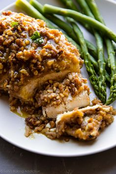 This unbelievable walnut crusted chicken hits the spot for dinner tonight. It's an easy, savory, satisfying, crispy, and delicious make-ahead meal!