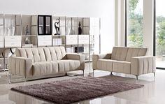 Stylish Design Furniture - Midwick - Modern Fabric Sofa Set, $1,380.00 (http://www.stylishdesignfurniture.com/products/midwick-modern-fabric-sofa-set.html)