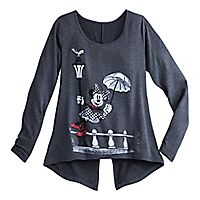 Minnie Mouse Long Sleeve Fashion Tee for Women