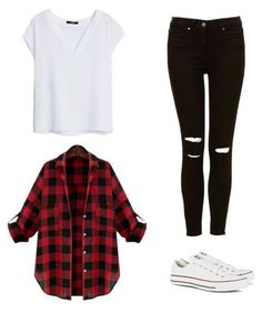 teenager outfits for school . teenager outfits for school winter Casual School Outfits, Komplette Outfits, Outfits With Converse, Spring Fashion Outfits, Look Fashion, Converse High, Beste Outfits, Summer Outfits, Fashion Styles