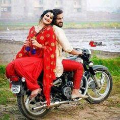 Gedhi time_punjabi couple_bullet