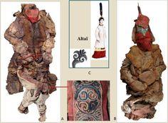 mummies in the taklamakan desert at djoumboulak koum