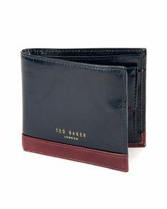 NEMOS - Bifold wallet - Navy   Men's   Ted Baker UK