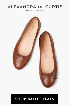 Italian design meets premium quality in this chic and comfortable ballet flat. Classic round silhouette with adjustable bow tie and grosgrain ribbon made with the traditional sacchetto construction method. Handmade in the Tuscan town of Arezzo, with soft premium nappa leather, a padded leather footbed, and a leather outsole with rubber forepart to prevent slipping. We guarantee you'll want one in every colour!