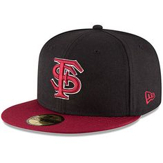 ... best price mens new era black garnet florida state seminoles basic  59fifty fitted hat florida state a6e1324d6ef