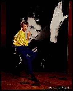 there's an exhibition opening in London this month featuring a selection of photographs of David Bowie by British photographer Tony McGee, some of which have… Lady Stardust, Ziggy Stardust, David Bowie Starman, The Thin White Duke, Pretty Star, Major Tom, I Love Music, Glam Rock, Twiggy