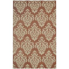 Rizzy Home Floral Green Bradberry Downs 100-percent Wool Hand-Tufted Accent rug (8' x 10')