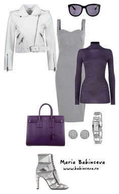 """Без названия #808"" by mariaalex-stylist ❤ liked on Polyvore featuring Victoria Beckham, Yves Saint Laurent, Missoni, Sergio Rossi, Jewelonfire, The Row and Burberry"