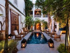 moroccan swimming pool private - Google zoeken