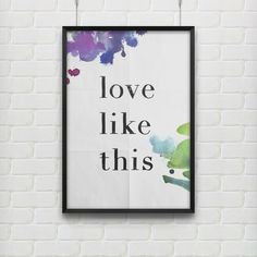 Image of Love & Dreams print