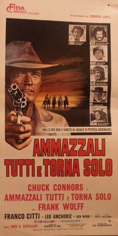 AMMAZZALI TUTTI E TORNA SOLO Film 16mm (Cineteca di Piero)