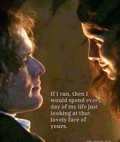 Outlander Fan Art, Outlander Quotes, Outlander Book Series, Day Of My Life, Jamie Fraser, Favorite Tv Shows, Romance, Sam Heughan, Books