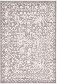 Light Gray 7' x 10' New Vintage Rug | Area Rugs | eSaleRugs